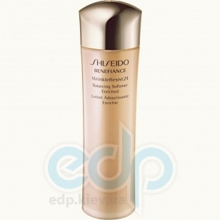Shiseido -  Face Care Benefiance Wrinkle Resist 24 Balancing Softener Enriched - 150 ml