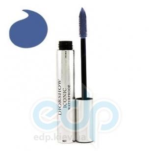 Тушь для ресниц Christian Dior -  Diorshow Iconic Waterproof №268 синяя