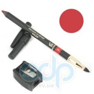 Карандаш для губ Chanel -  Le Crayon Levres №24 Rouge