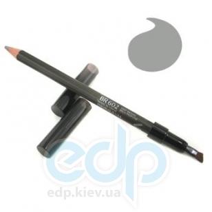 Карандаш контурный для бровей Shiseido - Natural Eyebrow Pencil №BR 602 Deep Brown / Насыщенный коричневый