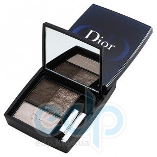 Тени для век Christian Dior -  3-Couleurs Eyeshadow №781 Smoky Brown