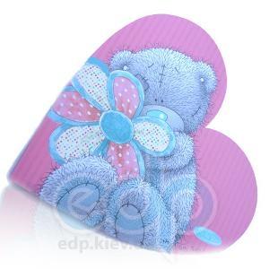 Teddy MTY (мишки) Блокнот MTY (Me To You) -  в форме сердца (арт. G01S0267)