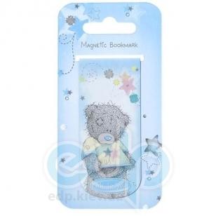 Teddy MTY (мишки) Закладка для книг магнитная MTY (Me To You) -  Magnetic Bookmark (голубая) (арт. G01S0295)