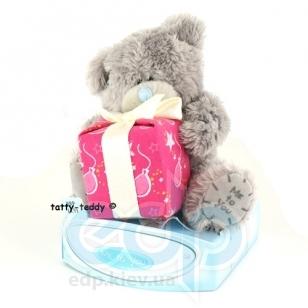 Teddy MTY (мишки) Игрушка плюшевый мишка MTY (Me To You) -  с подарком Happy Birthday 7.5 см (арт. G01W0253)