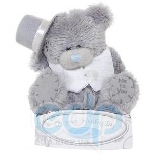 Teddy MTY (мишки) Игрушка плюшевый мишка MTY (Me To You) -  - On your Wedding Day 7.5 см (жених) (арт. G01W0741)