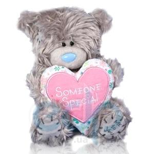 Teddy MTY (мишки) Игрушка плюшевый мишка MTY (Me To You) -  с сердцем Someone Special 15 см (арт. G01W1043)