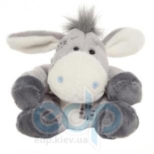 Teddy MTY (мишки) Друзья мишек Teddy Blue Nose -  плюшевый ослик 10 см (арт. G73W0013)
