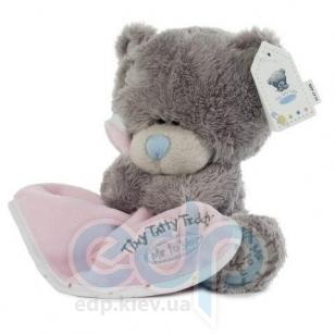 Teddy MTY (мишки) Игрушка плюшевый мишка MTY (Me To You) -  Tiny Tatty Teddy с розовым одеялом 15 см (арт. G92W0017)