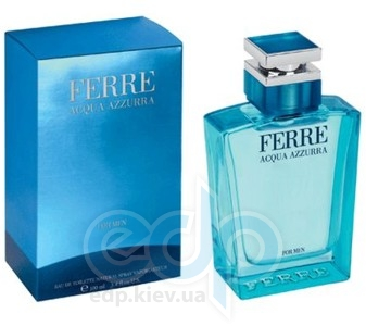 Gianfranco Ferre Acqua Azzurra -  Набор (туалетная вода 50 + гель для душа 100)