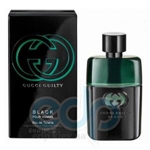 Gucci Guilty Black Pour Homme - Набор (туалетная вода 90 + гель для душа 50 + гель после бритья 75 ml)