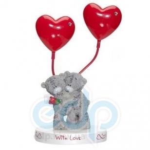 Teddy MTY (мишки) Держатель для фотографии двойной MTY (Me To You) -  два медвежонка  With Love (арт. GYQ1074)