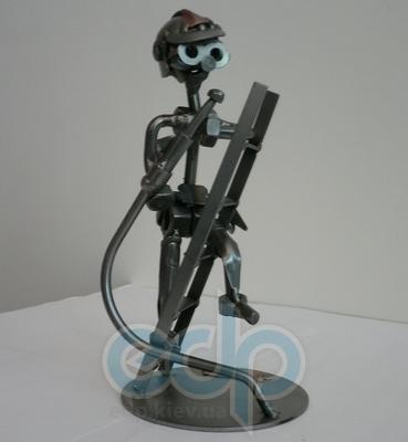 Hinz and Kunst (cтатуэтки) Статуэтки Hinz and Kunst (Германия) - Пожарник - 20 x 10 см. (металл)