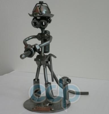 Hinz and Kunst (cтатуэтки) Статуэтки Hinz and Kunst (Германия) - Пожарник - 20 x 17 см. (металл)