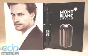 Mont Blanc Emblem - туалетная вода - пробник (виалка) 4.5 ml