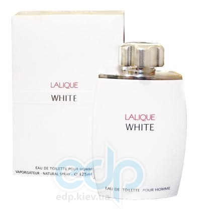 Lalique White -  Набор (туалетная вода 75 + дезодорант стик 75)