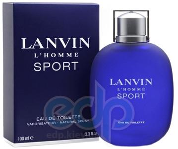 Lanvin Lhomme Sport -  Набор (туалетная вода 100 + бальзам после бритья 100 + гель для душа 100)