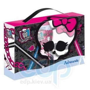 Admiranda - Набор подарочный Monster High (гель для душа с экстрактом масла оливы Monster High 300 ml + мочалка) - (арт. AM 72582)