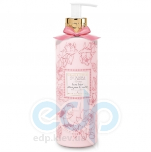 Grace Cole - Лосьон для рук Floral Collection Hand Lotion White Rose & Lotus Flower - 500 ml