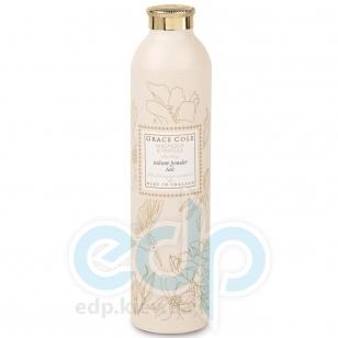 Grace Cole - Тальк для тела Floral Collection Talcum Powder Magnolia & Vanilla - 200 g
