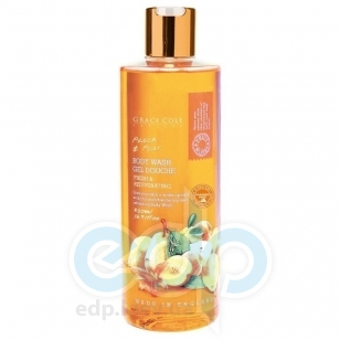 Grace Cole - Гель для душа Body Wash Peach & Pear - 500 ml