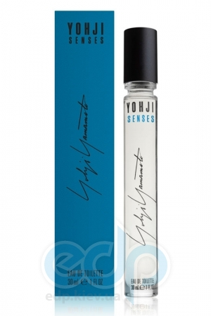 Yohji Yamamoto Yohji Senses (2013) синяя - туалетная вода - mini 10 ml
