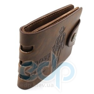 Портмоне мужское горизонтальное Genuine leather - 120х100 мм