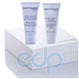 Phytomer -  Косметический набор против старения кожи Phytomer OgenAge (Оженаж крем при первых признаках старения Initial youth multi-action early wrinkle cream -  50 ml + Омолаживающая маска, предупре