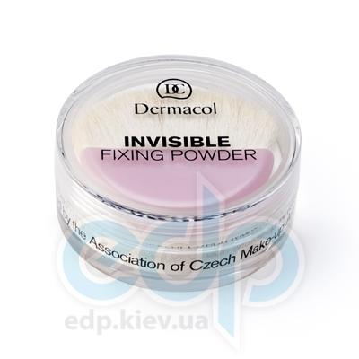 Dermacol Пудра рассыпчатая фиксирующая № 01 Light Invisible Fixing Powder - 13.5 gr (3157)