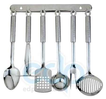 Berghoff Cook&Co (посуда) COOK and Co (от Berghoff) -  Кухонный гарнитур -  6 предметов на стойке Duet (арт. 2800645)