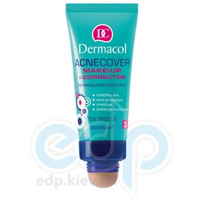 Dermacol Acnecover Make-up and Corrector Тональный крем крем із Корректором для проблемної кожи № 3 - 33 ml (16909)