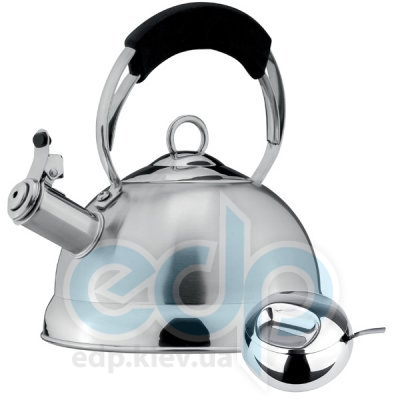 Vinzer - Чайник Geneva + сахарница с ложкой - объем 2.4 л (арт. 89019)