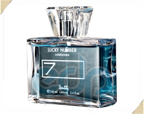 Dzintars (Дзинтарс) - Одеколон Lucky number N 7 - 100 ml (15530dz)