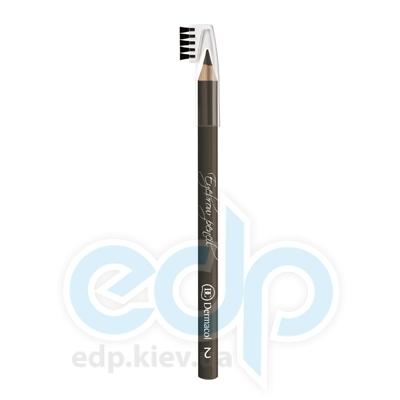 Dermacol Карандаш для бровей со щеточкой Eyebrow pencil № 02 - 1.6 gr (5029)