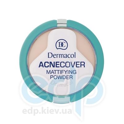 Dermacol Acnecover Пудра Компактная матирующая для проблемной кожи № 02 Shell - 11 gr (2329)
