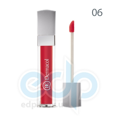 Dermacol Блеск для губ бриллиантовый Lip Gloss № 06 - 6 ml (6723)
