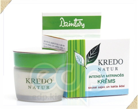 Dzintars (Дзинтарс) - Интенсивн.увлажн.крем для сухой кожи лица и шеи Kredo Natur - 50 ml (28240dz)