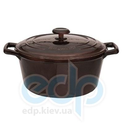 Berghoff -  Кастрюля с крышкой чугунная Neo Cast Iron -  диаметр 24 см вместимостью 4.2 л (арт. 3502562)