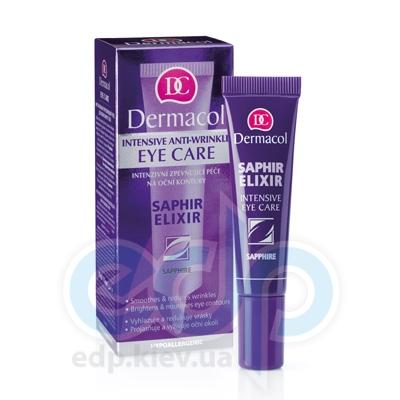 Dermacol Saphir Elixir крем для век интенсивный укрепляющий с сапфиром Intensive Anti-wrinkle Eye Care - 15 ml (16273)