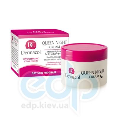 Dermacol крем ночной питательный для сухой и очень сухой кожи Queen Intensive Night Cream - 50 ml (15682)