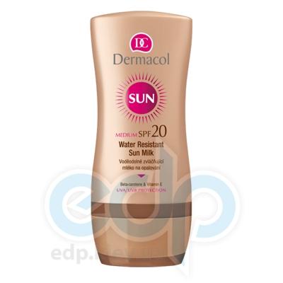 Dermacol Sun Молочко для загара SPF 20 водостойкое смягчающее Sun Milk - 200 ml (5381)