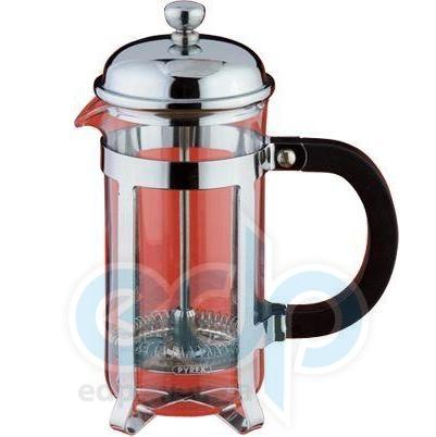 Vinzer (посуда) Vinzer -  Кофейник/Заварник Classic - нержавеющая сталь, стекло Pyrex, 350 мл (арт. 69368)