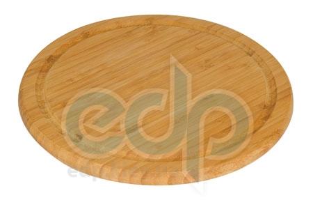 Vinzer (посуда) Vinzer -  Бамбуковая доска для нарезки пиццы, диаметр 30x1,5 (арт. 69908)