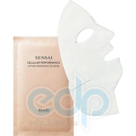 Kanebo - Подтягивающая маска, придающая коже здоровое сияние Sensai Cellular Performance Lifting Radiance 3D Mask 6 штук - 35 ml