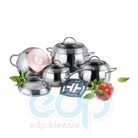 Vinzer (посуда) Vinzer -  Набор посуды MAJESTIC OPTIMA - 9 предметов (арт. 89041)