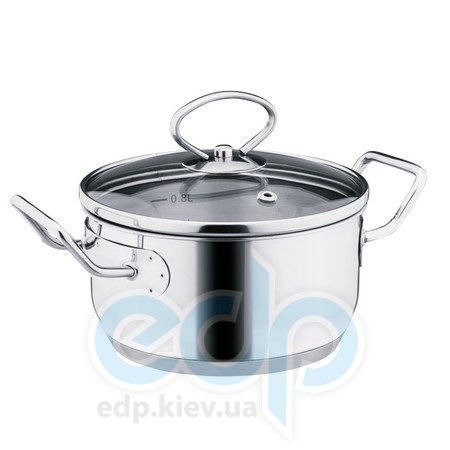Vinzer (посуда) Vinzer -  Кастрюля с крышкой Mini, диаметр по крышке 14см, 1,2л (арт. 89087)