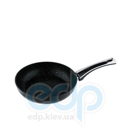 Vinzer (посуда) Vinzer -  Сковорода с керамическим покрытием Granite Induction line без крышки - диаметр 24см.  (арт. 89431)