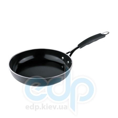 Vinzer (посуда) Vinzer -  Сковорода  с керамическим покрытием Ceralon (Eco Style)   - диаметр 28см.  (арт. 89473)