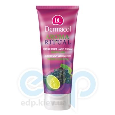 Dermacol Крем для рук смягчающий Виноград и Лайм Anti-Stress Hand cream Body Aroma Ritual - 250 ml - 100 ml (3355)