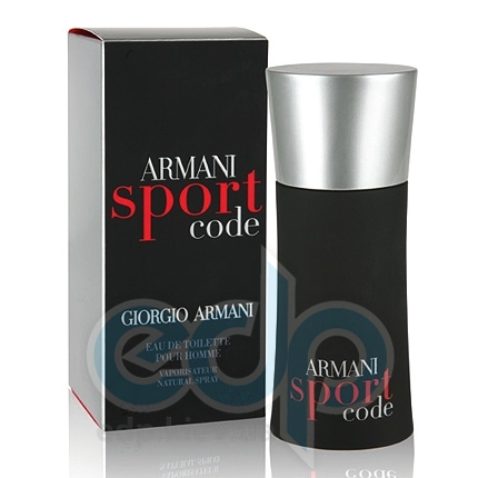 Giorgio Armani Armani Code Men Sport -  Набор (туалетная вода 75 + туалетная вода 20 + косметичка)
