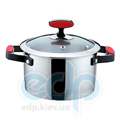 Maestro (посуда) Maestro - Кастрюля 22см 4.0л. силик. ручки (МР3514-22)